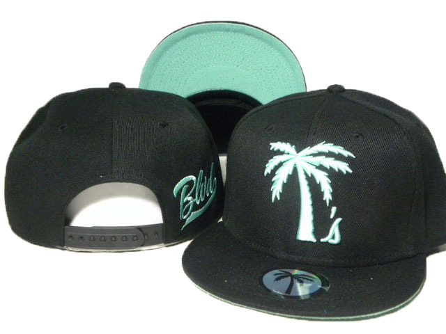 BLVD Black Snapbacks Hat DD 0613